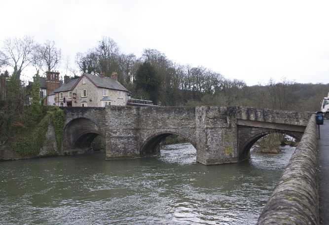 Ludford Bridge 12th and 15th centuries