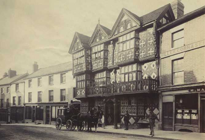 The Feathers Hotel, refronted 1619